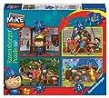 Mike el Caballero - Set de 4 puzzles por Ravensburger