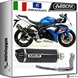 Arrow Auspuff Komplett Hom race-tech Carbon Carby Suzuki GSX-R 100020131371791MK + 71462Ich