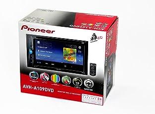 Pioneer AVH-A109DVD Monitor RDS AV Receiver (Black)