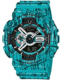Reloj Casio G-shock Ga-110sl-3aer Hombre Verde