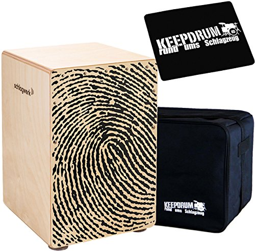 Schlagwerk CP118 X-One Fingerprint Medium + keepdrum Gig Bag + CP-01 Pad