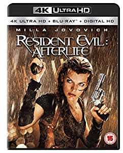 Resident Evil: Afterlife (4K Ultra HD + Blu-ray) [2010] [Region Free]