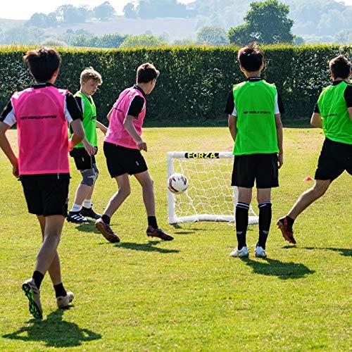 FORZA – wetterfestes Kinder Fußballtor, 0,9 x 0,75 m - 4