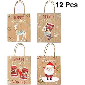 Geschenktüten Weihnachten 23x17x10 Weihnachtstüten Geschenktasche 22-0318-2