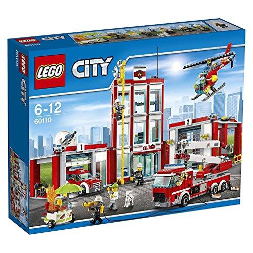 Lego 60110 - caserma dei pompieri vigili del fuoco lego city