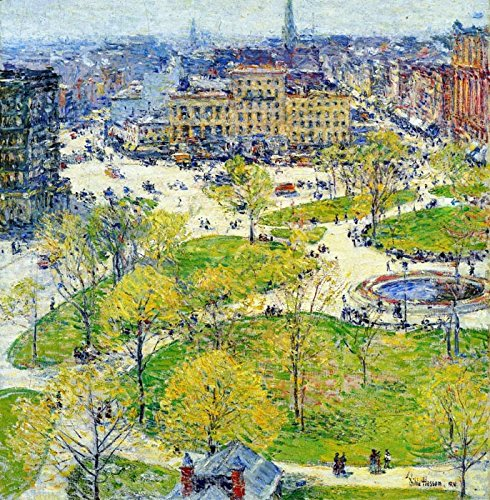 Das Museum Outlet - Union Square in Spring, 1896 - A3 Poster