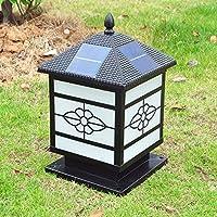 E&A/ Lampada testa/paesaggio giardino/casalinghi/lampada da parete lampada solare lampada stipite esterno lampada/pilastro lampada solare