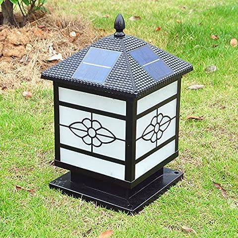 desy Lampada testa/paesaggio giardino/casalinghi/lampada da parete lampada solare lampada stipite esterno lampada/pilastro lampada solare