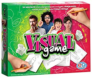 Editrice Giochi 6033989-Juegos de Mesa «Visual Game» (Idioma español no garantizado) Classic