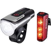 SIGMA SPORT - LED Fahrradlicht Set Aura 80 und BLAZE   StVZO zugelassenes, akkubetriebenes Vorderlicht und Rücklicht mit…