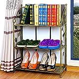 Cremagliere in ferro battuto mensole angolari per bagno cucine per soggiorno scaffali a più piani scaffalature per contenitori ( Color : Bronze )