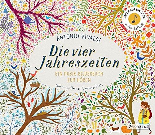 Antonio Vivaldi. Die vier Jahreszeiten: Ein Musik-Bilderbuch zum Hören - Partnerlink