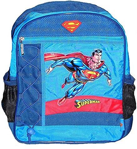 Maxi&Mini - SUPERMAN SAC A DOS CARTABLE ECOLE LOISIRS SORTE EN PLEIN AIR