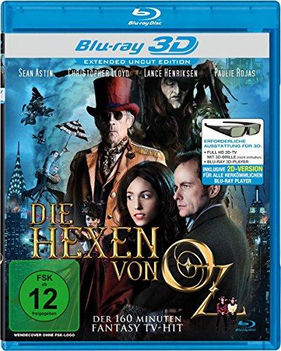 Die Hexen Von Oz Real 3d [Blu-ray]