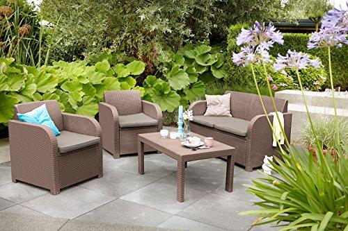 Jysk Garden Furniture Jysk garden lounge set ebeltoft 4 pers brown garden rattan furniture jysk garden workwithnaturefo