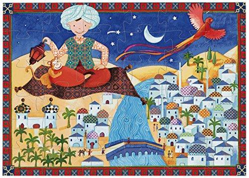 Puzzle Djeco Ali Le Magnifique 36 pcs