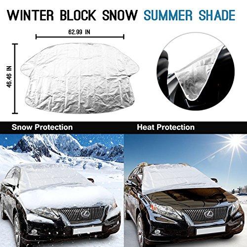 mture winterabdeckung scheibenabdeckung eisschutz auto. Black Bedroom Furniture Sets. Home Design Ideas