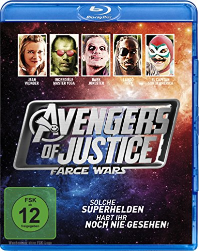 Avengers of Justice - Farce Wars [Blu-ray]