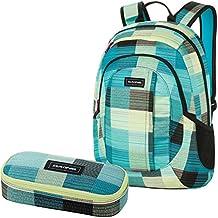 DAKINE 2er SET Laptop Rucksack Schulrucksack 20l GARDEN + SCHOOL CASE Mäppchen Luisa
