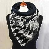 SJYM Fashion Women Soild DOT Pulsante di Stampa Soft Wrap Casual Sciarpe Calde Scialli Sciarpa Sciarpa Donna, Grigio, Taglia