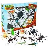 Nature Bound Toys Bugs et la Maison-Blanche Livré dans Une boîte avec Ensemble de Jouet Insectes et Animaux (10pièces), L