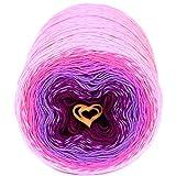 Unique cotton yarn, multicolor, Wonderful Knitting Roll, hand knitting, crocheting, 9,88 ounces / 984 yards (801)