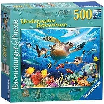 Ravensburger Underwater Adventure Puzzle (500 Pieces)