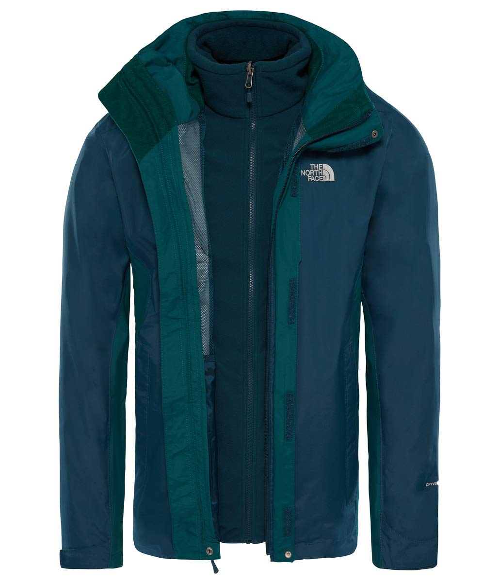 The North Face M Tricl Chaqueta Evolution II Triclimate, Hombre