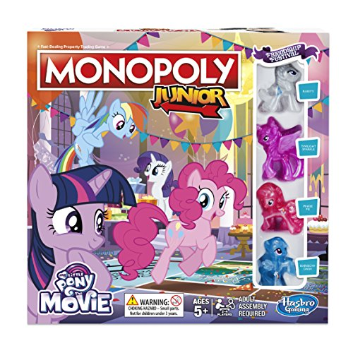 Hasbro Gaming b84173480 Monopoly Junior My Little Pony Freundschaft ist Magic