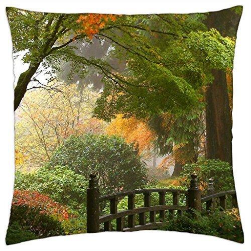 Jardin japonais - Couvre-lit Taie d'oreiller Coque (16