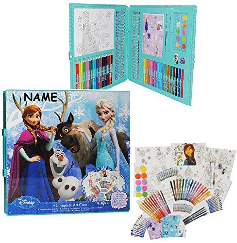 200 tlg. Set: XXL Stifte-Koffer - ' Disney die Eiskönigin - Frozen ' incl. Namen - Malkoffer mit...