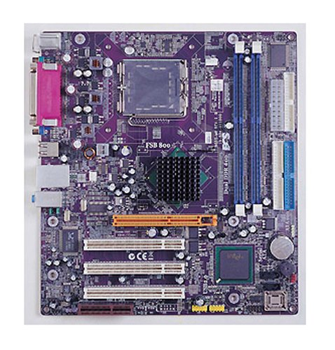 ECS ELITEGROUP 865G-M8(1.0) 865G MATX Sockel S775 Mainboard Motherboard 865