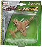 #9: Maisto AV-8B Harrier II Aeroplane Die Cast Toy Model (Brown)