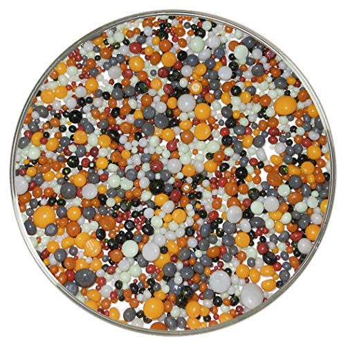 Haunted Halloween Designer Collection Mix Frit Balls - 90COE Neue größere 284 g - aus Bullseye Glas von New Hampshire Craftworks (New Halloween Hampshire)
