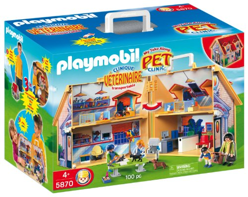 Playmobil Zoo - Clinical Veterinary, Briefcase (5870)