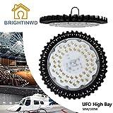 BRIGHTINWD 50W warmweiß High Bright Fabriklampe Industrielampe 5000LM 90° Abstrahlwinkel LED Fluter für Industrie- und Hallenbeleuchtung