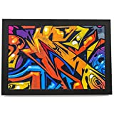AB1245 coloré Graffiti Abstraite Moderne encadrée Wall Art Accueil Prints Image