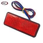 HAP 1Pcs LED Rear Stop Marker Tail Brake Light for Car Truck Trailer Motorcycle Motorbike assoterd