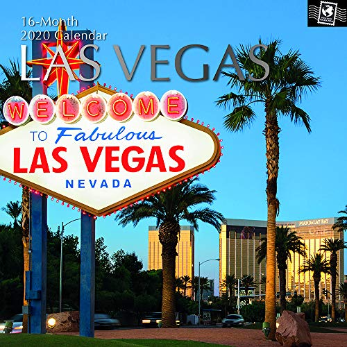 The Gifted Stationery, calendario da parete 2020, quadrato, Las Vegas (GSC19608)