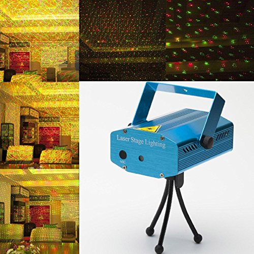mld diwali mini laser projector stage lighting sound activated laser light for party and dj maxicount in