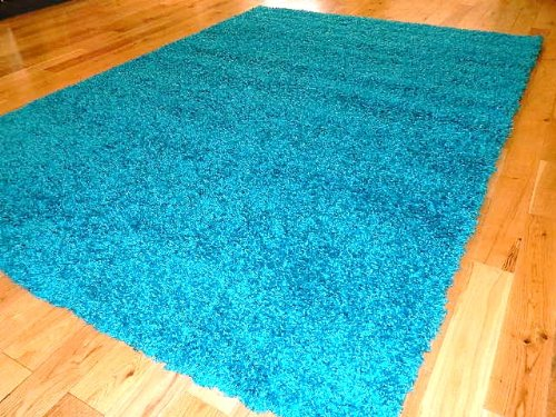 turquoise blue shag rug small extra large rug new modern soft thick shaggy rugs non shed