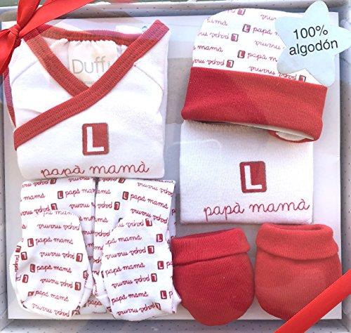 Set de regalo para bebé nacido