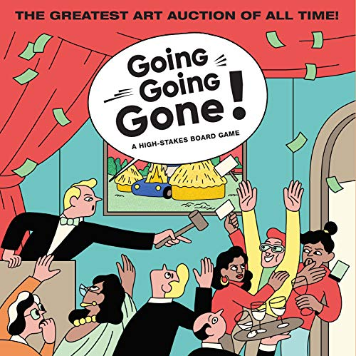 Going, Going, Gone!: A High-stakes Board Game di Simon Landrein
