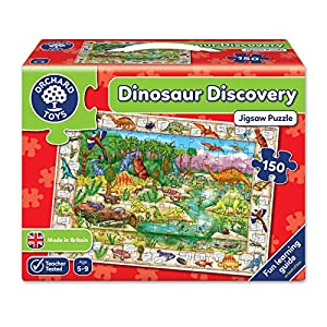 Orchard - Puzzle, diseño de Dinosaurios (en inglés)
