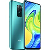 "Xiaomi Redmi Note 9 4GB 128GB Smartphone 48MP Quad Camera MTK Helio G85 Octa core 6.53""FHD Telefono cellulare (Green)"