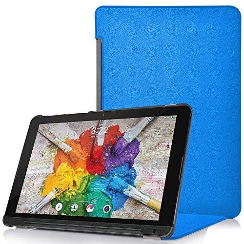 Forefront Cases® LG G Pad X II 10.1 Hülle Schutzhülle Tasche Case Cover Stand - Ultra Dünn & Leicht mit R&um-Geräteschutz (HELL BLAU)