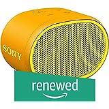 (Renewed) Sony Wireless Speaker SRS-XB01 (Yellow)