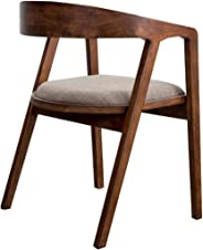 Nordic solid wood chair home dining chair presidential chair