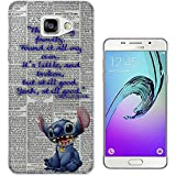458 - stitch ohana this is my family Design Samsung Galaxy A5 -(2016 Modèle) Fashion Trend Protecteur Coque Gel Rubber Silicone protection Case Coque