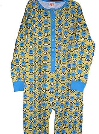 Despicable Me 2 Minions coton Primark Essentials Pyjama combinaison en bas âge 3/4